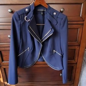 Womans White House cropped jacket